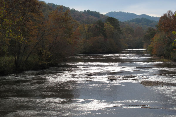 Little Tennessee River via Wikimedia Commons